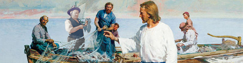 63013 Jesus Fisherman Calling Disciples Nets