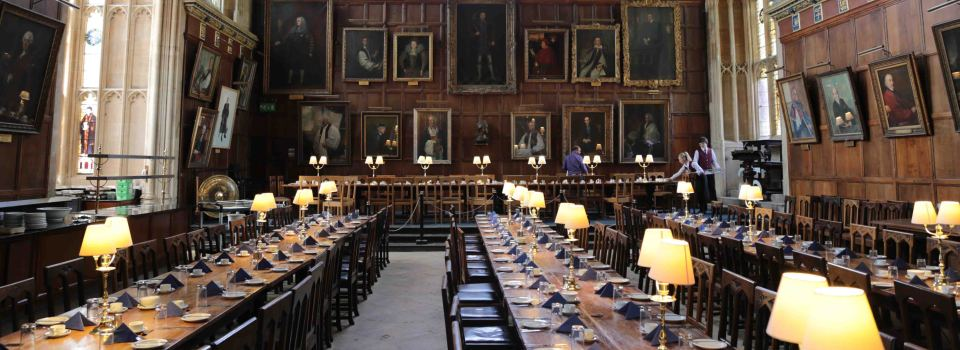 5490 Christ Church Harry Potter Slider Wesley Dining Hall