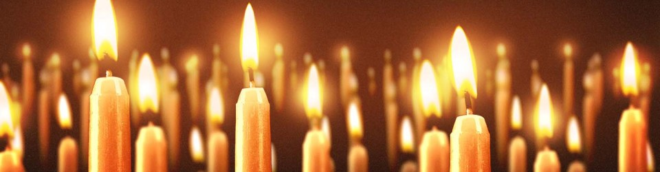 5535 Christmas Candles Slider